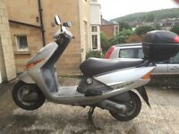 HONDA LEAD SCV100 F-5 (TAXED AND TOP BOX INCLUDED)