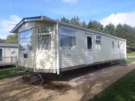 2010 Carnaby Ridgeway caravan for sale at Percy Wood Country Park near Alnwick in Northumberland