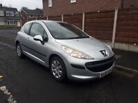 2006 Peugeot 207 1.4 ONLY 52K MILES 12M MOT FSH Cheap reliable bargain