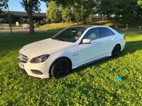 Mercedes E63 AMG Replica in white!!!
