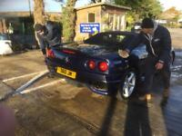 Hand Car Wash & Valet Staff Required ASAP