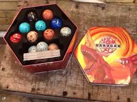 Bakugan tin of toys