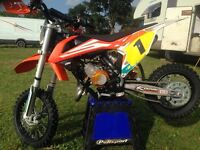 2016 ktm 65 one owner excellent condition standard bike