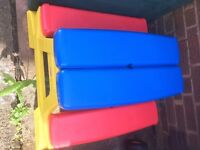 Children's Folding Picnic Table