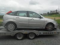 BREAKING 2003 FORD FOCUS 1.6 PETROL AUTOMATIC - NO TEXTS PLEASE - NEWRY / ARMAGH