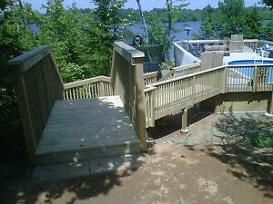 CUSTOM DECKS AND FENCES, NO PROJECT TOO BIG OR SMALL!