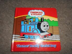 Hard back Thomas and Friends book - Thomas' really useful day