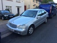 Mercedes C180 ELEGANCE,2001,6 SPEED,4 DOOR,P/X POSS