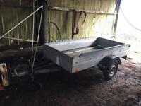 Car trailer 8x4 unbraked