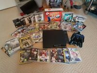 Sony PS3 Slim 250 GB incl 43 Games - Superb
