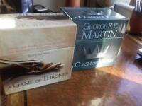 58 audio CD'S unabridged A game of Thrones + A Clash of Kings