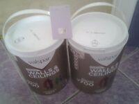 10 Litre Excellent Quality B & Q Valspar Paint for sale Colour lilac