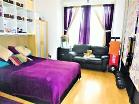 BEAUTIFUL MASSIVE STUDIO/1 BED FLAT ON GRND FLOOR TO LET ON MITCHAM LANE.SW16 6NU-AVAIL 01 MAY 2018