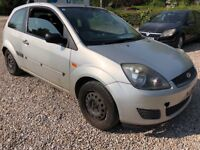 Ford Fiesta Style 1242cc Petrol 5 speed manual 3 door hatchback 56 plate 29/09/2006 Silver