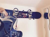 Burton Snowboard , Bindings and Boots