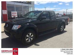 2010 Nissan FRONTIER 4WD KING CAB PRO-4X-CUIR-TOIT OUVRANT