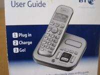 BT Cordless telephone with answermachine