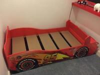 Kids car bed lightening mcqueen