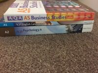 A level books and under/post graduate Psychology books for sale  Gloucestershire