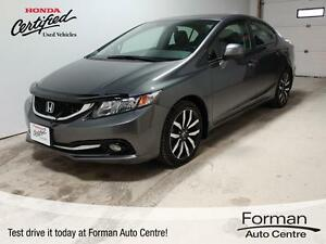 2013 Honda Civic Touring - Local trade | Navigation | Htd Lea...