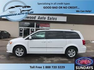 2015 Dodge Grand Caravan CREW! LEATHER! NAVI! LOADS OF POWER OPT