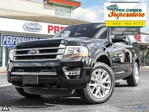 2016 Ford Expedition Limited***Cap Unit/Short/4WD/NAV*** Windsor Region Ontario image 1