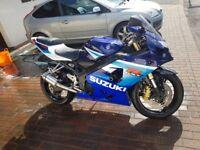 suzuki gsxr 600 k5 low miles