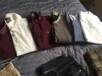 Job lot of men's clothes 15 items