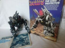 Gore - Large rare vintage 1985 Zoid toy (very good condition, boxed, instructions)