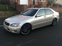 2004*LEXUS IS200 SE AUTOMATIC*2.0 PETROL*FULL SERVICE HISTORY*LONG MOT*LEATHER INTERIOR*HEATED SEATS