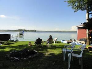 Lakefront Cottage For Rent -Lake Isle near Seba Beach