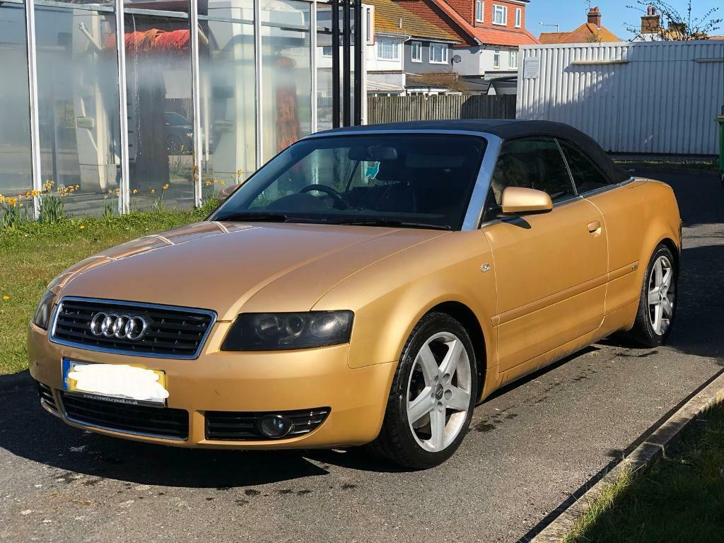 2003 Audi A4 cabriolet convertible SType2.4 petrol   in Maidstone, Kent   Gumtree