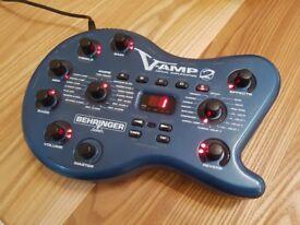 Behringer V-Amp 2 Guitar Modelling FX Unit