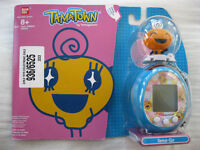TAMAGOTCHI Tama-Go - TamaTown - Blue Egg with Orange Memetchi - New