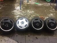Mercedes 18 inch monoblocks