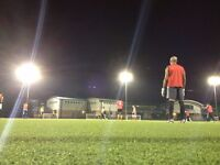 Want to play football on Sunday evenings? Join our 8 a side friendly game established 15 yrs.