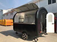 Mobile Catering Trailer Burger Van Hot Dog Cart Ice Cream Cart 2300x1650x2300