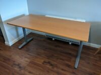 Ikea Galant Desk – Height Adjustable