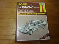 Haynes Granada & Scorpio manual - March 1985 - 1993.
