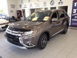 2017 Mitsubishi Outlander SE / CUIR / TOIT / CAMERA / 7 PLACES