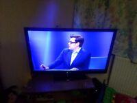 """47"""" neon smart TV"""