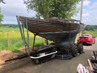 Folk Boat - Extensive Restoration Project