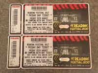 Reading Festival Friday Tickets x 2