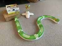 Cat and Kitten toys. Catit Senses Circuit with 2 oval scratchers, interactive butterfly toy.