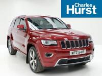 Jeep Grand Cherokee V6 CRD OVERLAND (red) 2015-03-31