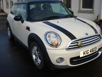 MINI COOPER 2012 MANUAL 1600 PETROL ENGINE. IMMACULATE. MOT until Mar 2019 Serviced Jan 2018