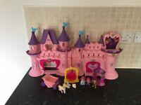 Princess castle and figures