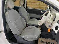 Fiat 500 0.9 TwinAir Lounge 3dr ONE PRIVATE OWNER (bossa nova white) 2012