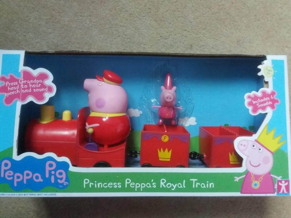 Toy: Peppa Pig Princess Train Set