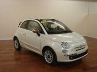 2014 Fiat 500C LOUNGE NAV CUIR $128 /2SEM+T